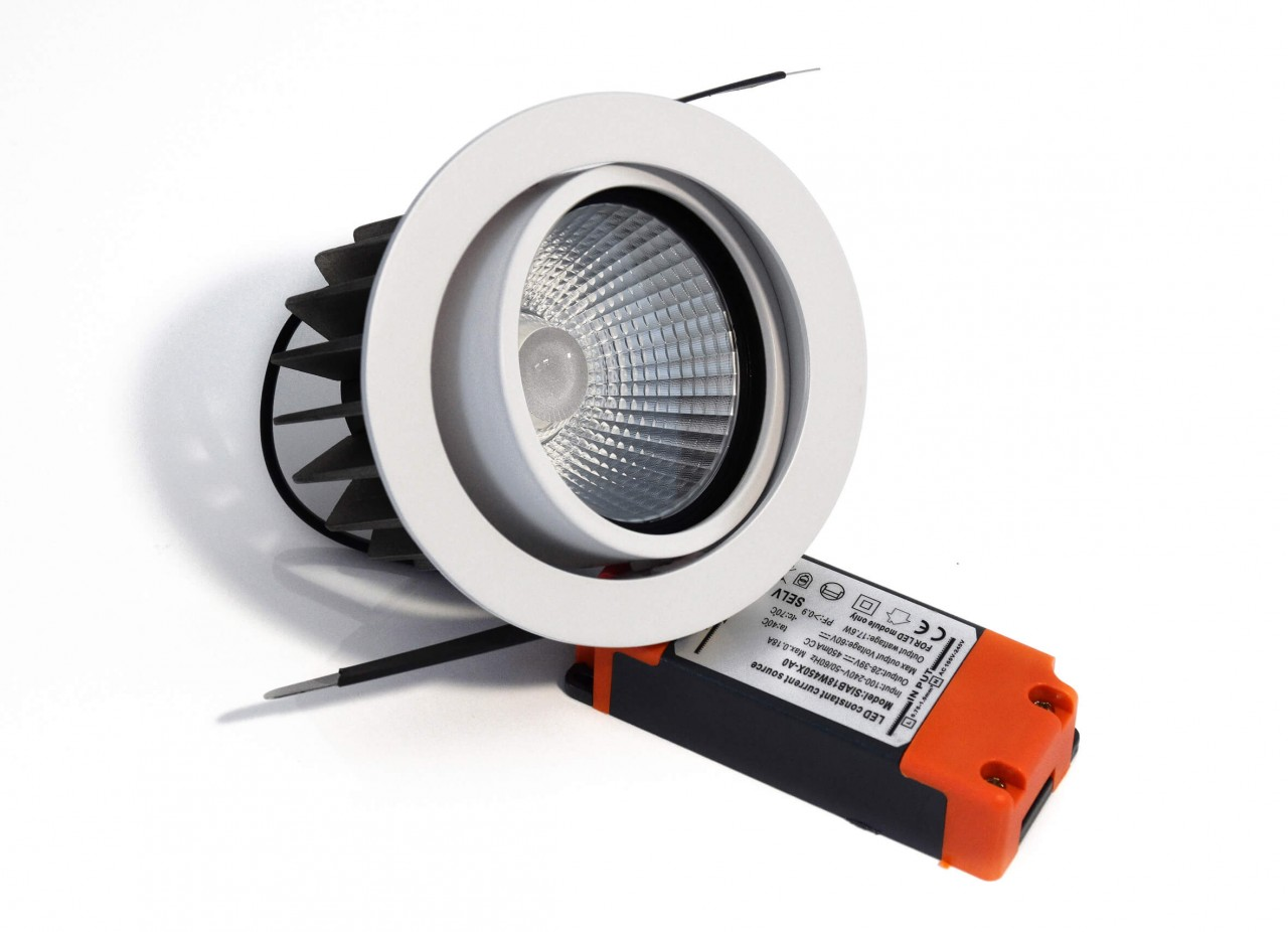 LED Einbaustrahler Downlight Accord 2.0 schwenkbar 8854322 | LED ...