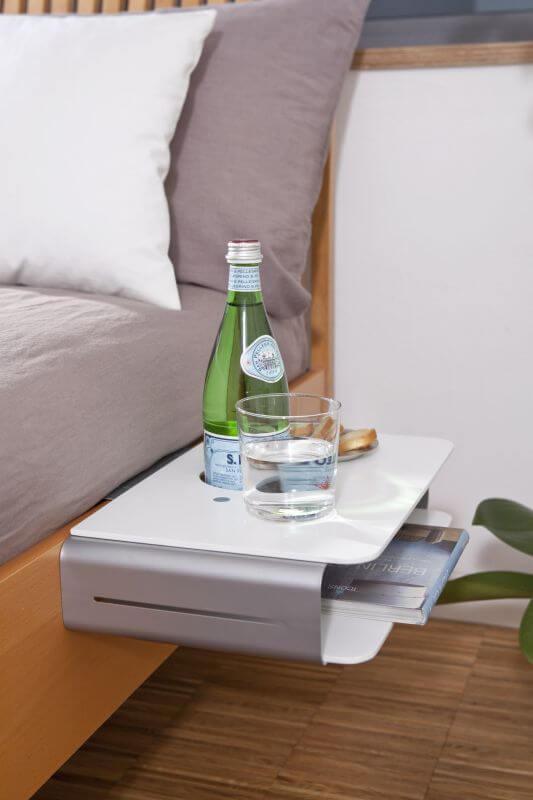 Mini Nachttisch Zum Anhängen Anklemmen Bett Butler Betttisch Deko