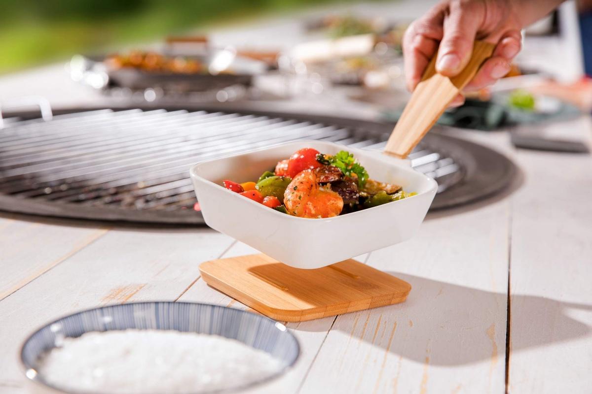 """Grillpfännchen /""""CERAMICO/"""" aus Keramik Raclette Überbacken Gemüse Grillpfanne"""